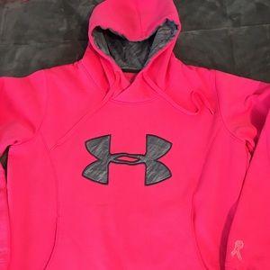 Tops - Bright Pink neon UA sweatshirt